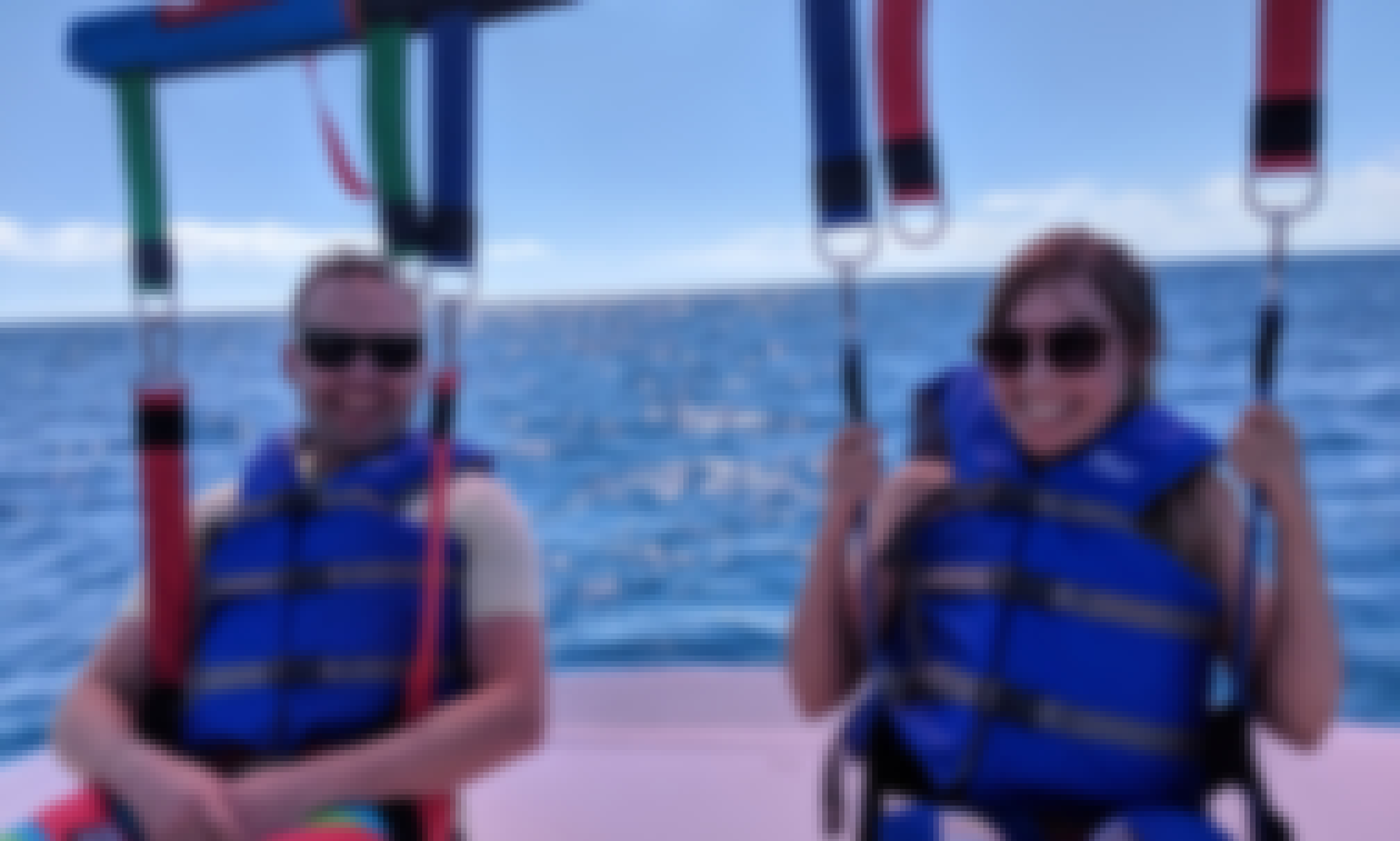Parasailing in St.Kitts