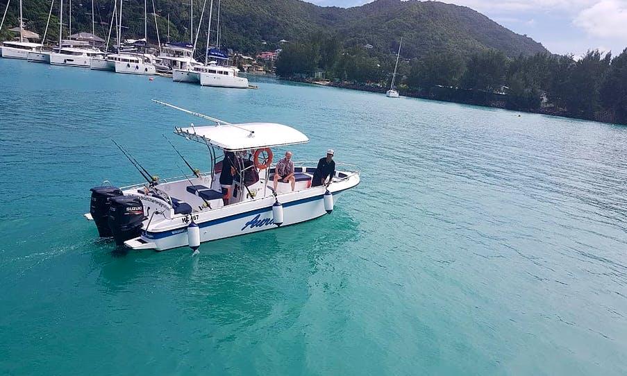 Come Enjoy The Best Fishing Trip in Praslin, Seychelles
