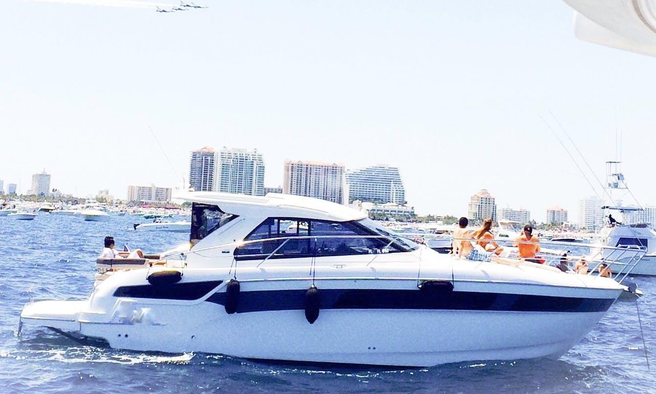 German Motor Yacht Rental in Boca Raton, Florida