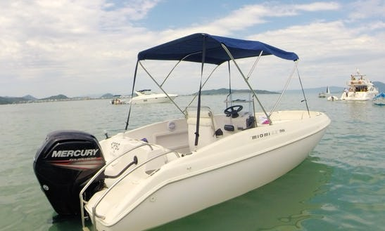 Rent A 19 Ft Miame Center Console For 5 People In Florianópolis, Brazil