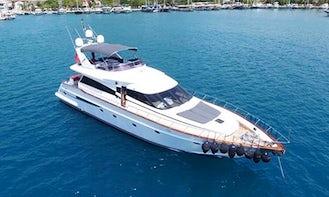 2011 Power Mega Yacht Charter in Muğla, Turkey