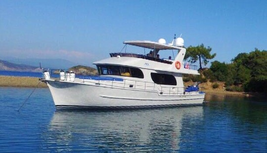A Perfect Yacht To Charter In One Of The Best Cities In Turkey