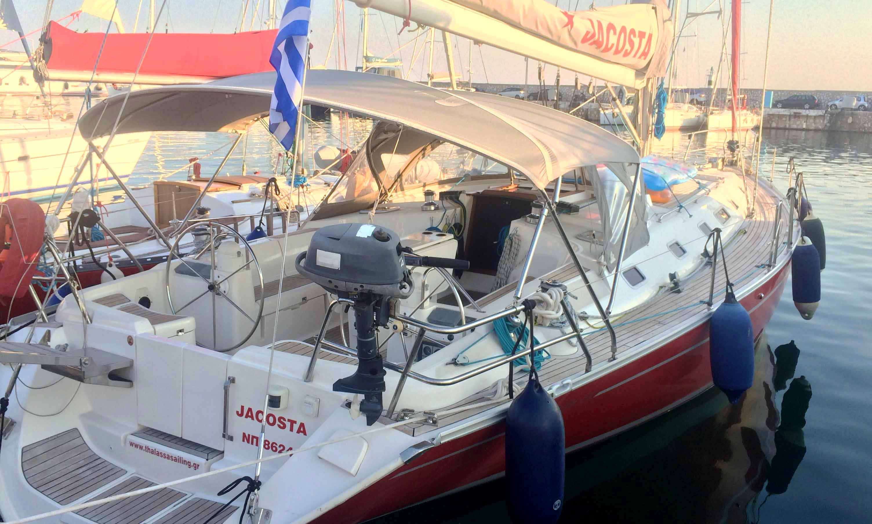 Charter the Alfa 51 Cruising Monohull for 8 People in Tourlos, Greece