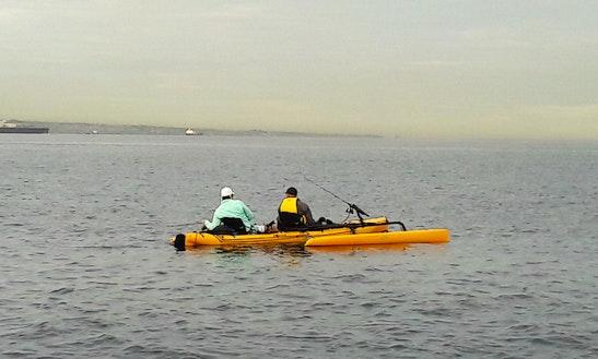 Rent A Hobie Tandem Island Sailing Trimaran For Fishing In Trou-aux-biches, Mauritius