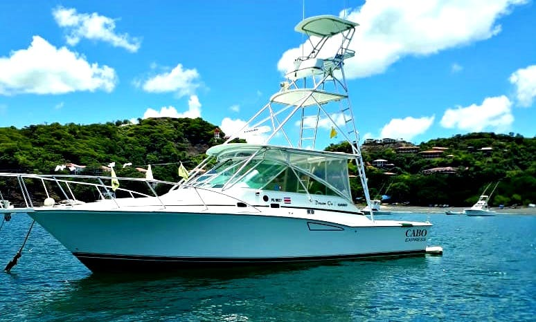 """Fishing Charter on """"Dream On"""" Cabo Express 35 with Captain Rick"""