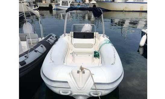 Semi Rigid Inflatable Boat For 14 People Ready To Hire In Martigues, France