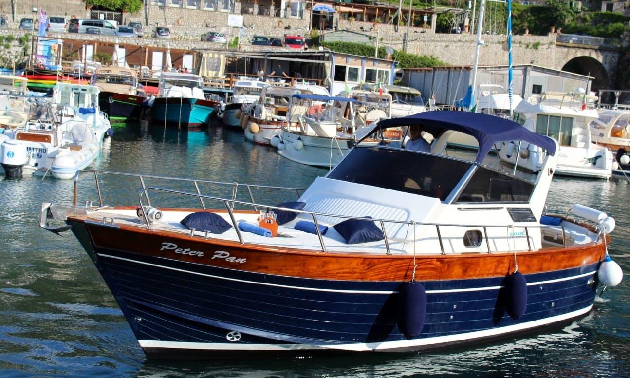 Exclusive Capri Tour for 10 Person on Aprea Mare Boat with Capitan Pietro