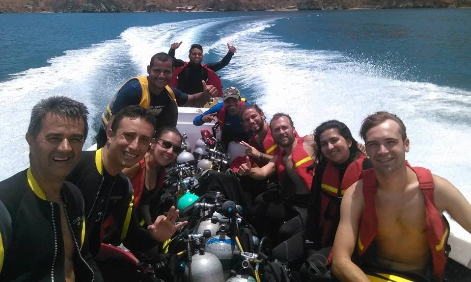 Amazing Private Diving Trip in Bogotá, Colombia