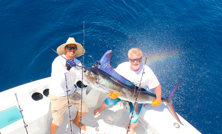 Sports fishing in Cabo San Lucas