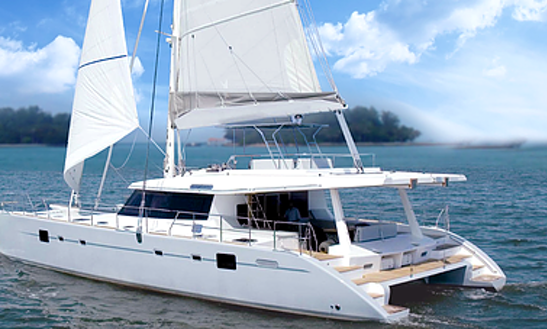Charter The Atlantis Mcs620 Cruising Catamaran In Bedok Reservoir, Singapore