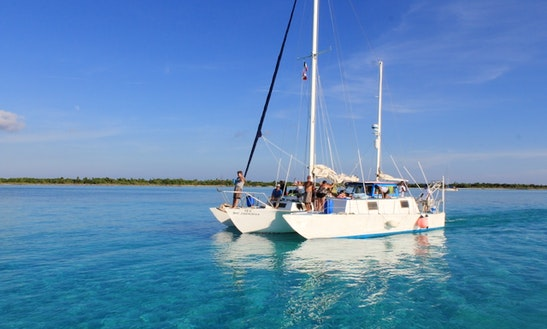Catamaran Sail And Snorkel Tour In Cozumel