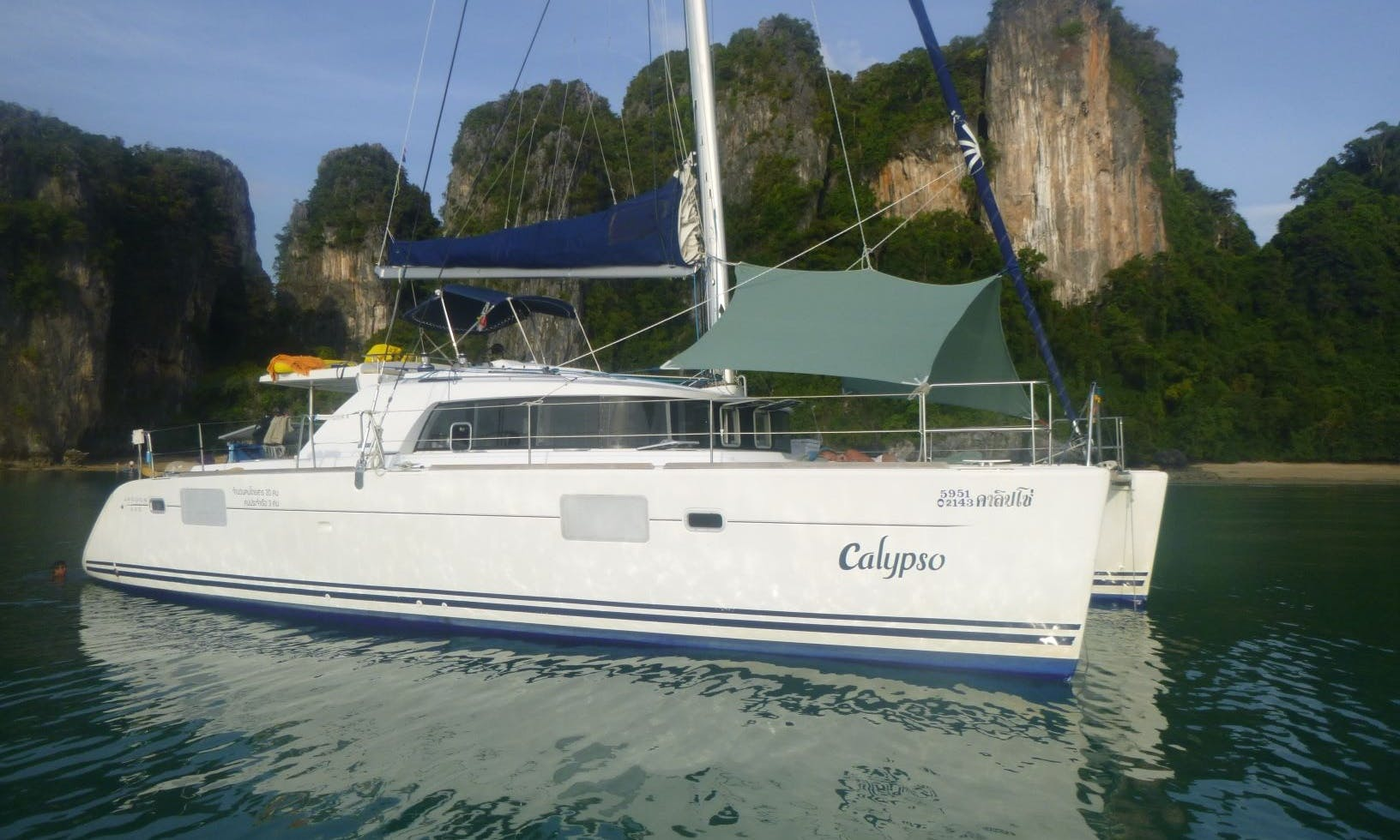 Lagoon 440 Cruising Catamaran Charter for Up to 8 People in Phuket, Thailand
