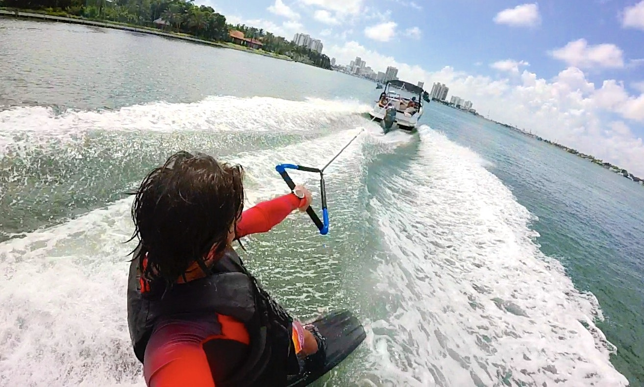 Wakeboarding Al In Miami Beach