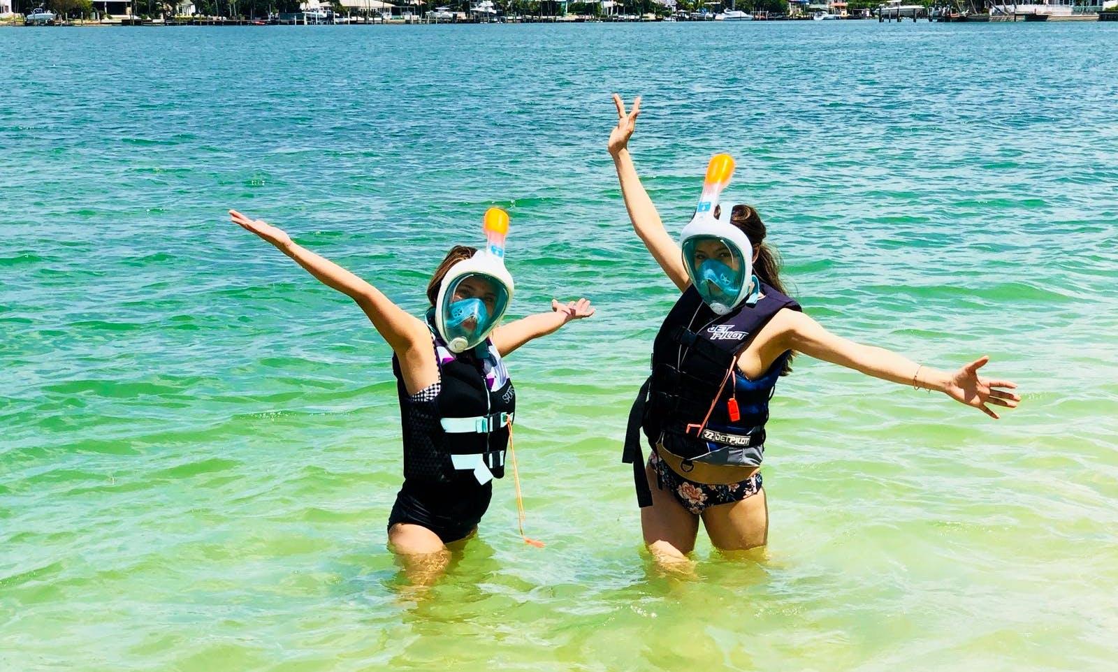 snorkeling tours in Miami Beach