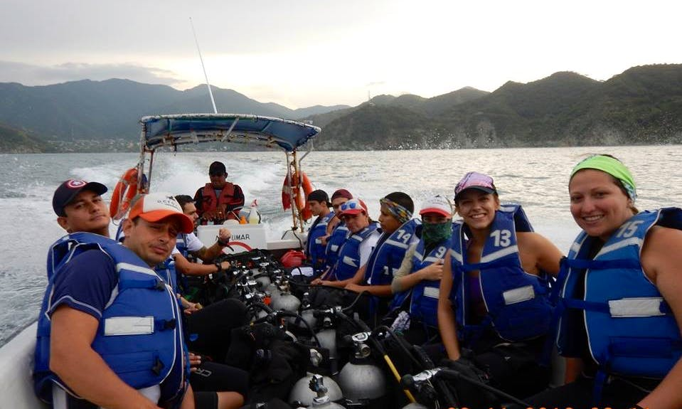 An Amazing Scuba Diving Experience in Santa Marta, Colombia