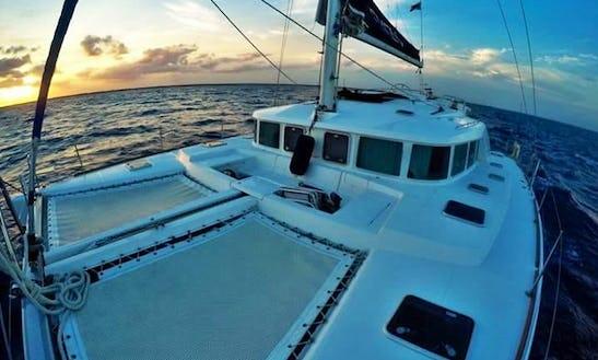 Cruising Catamaran Rental Riviera Maya Cozumel