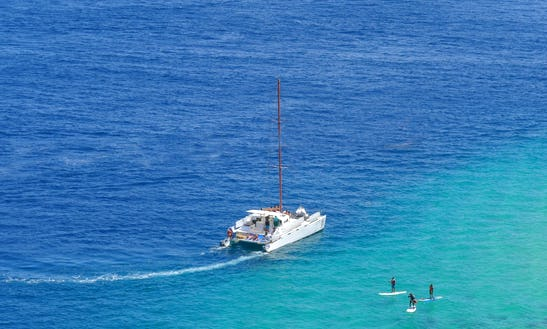Power Catamaran Rental In Cabo San Lucas