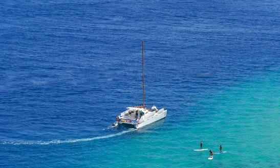 Power Catamaran Rental In Cabo San Lucas
