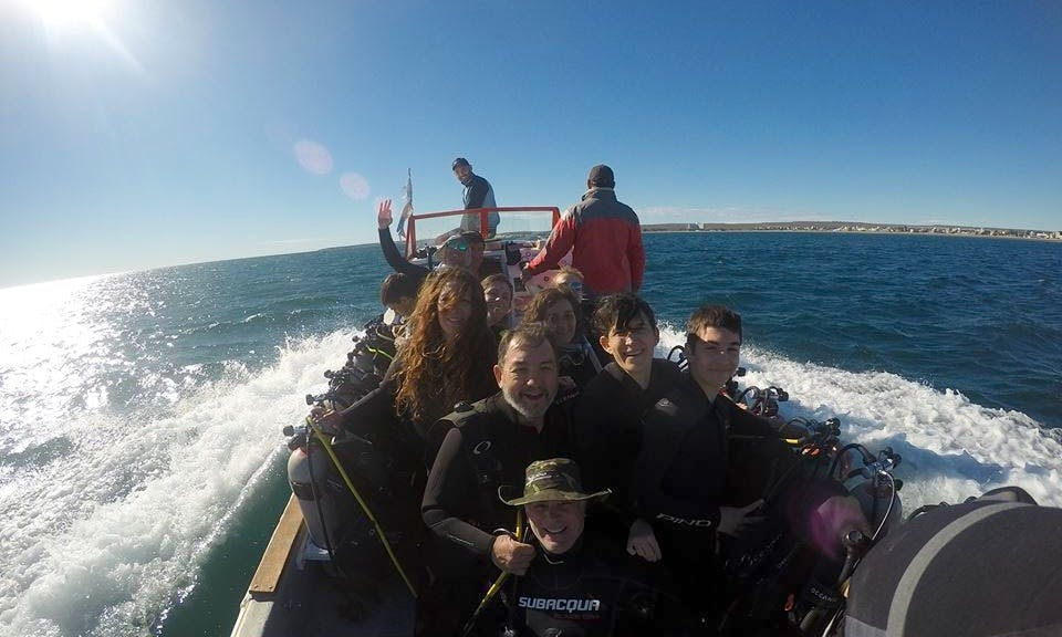 An Amazing Scuba Diving Experience in Rosario, Argentina