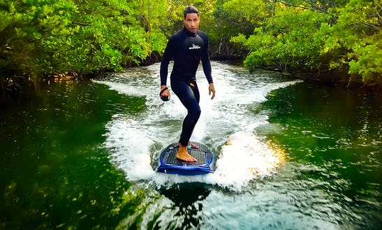 Ride The World's First Electric Jetboard In Miami, Florida
