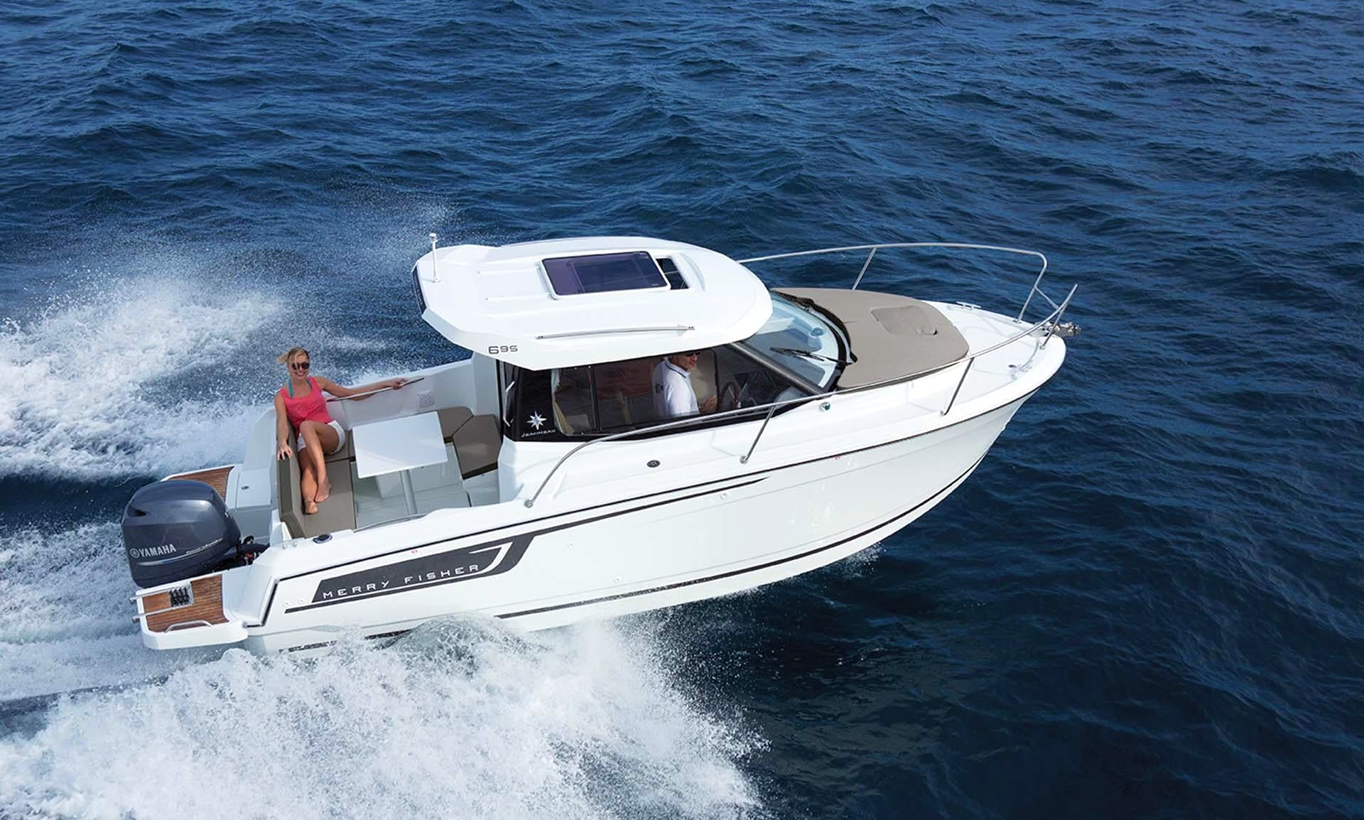 Jeanneau Merry Fisher 695 for Rent in Portoroz Slovenia