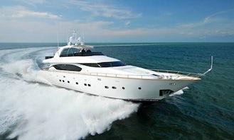 Massive Private Mega Yacht for charter in Dubai