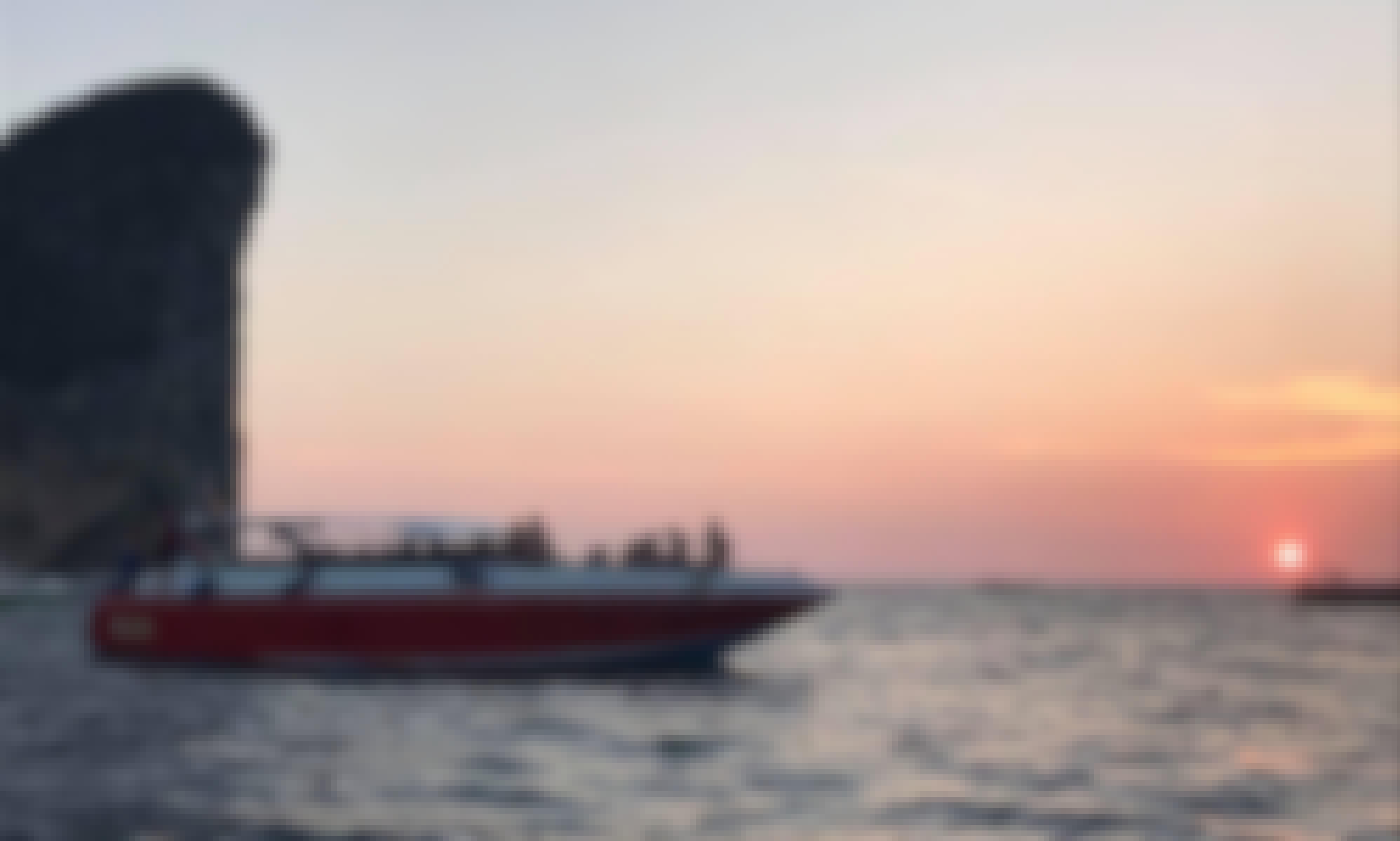 The Best Speedboat Tour in Phi Phi Island. Snorkeling, Sunset & Night PLANKTON