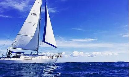 35' Pearson Sailboat for 6 Person with U.S.C.G. License Captain in San Juan, Puerto Rico