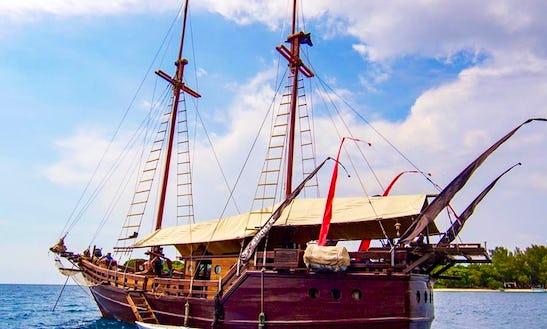 Luxury Pirate Boat In Komodo