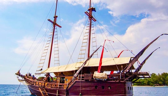Luxury Pirate Boat In Komodo