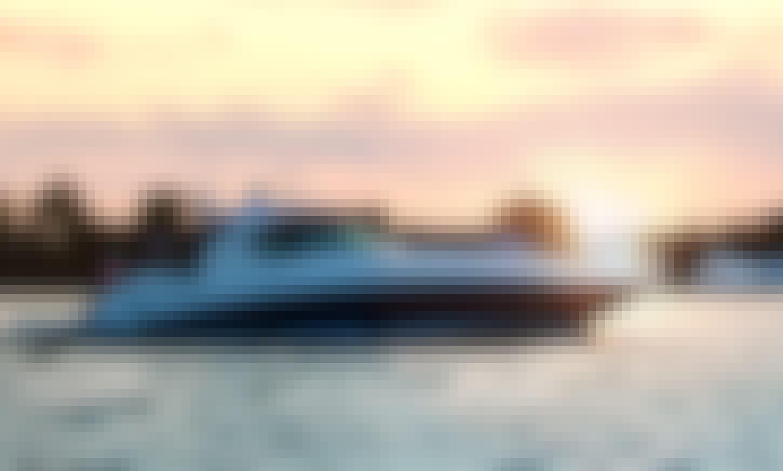Luxury Private Power Boat Los Angeles, Marina Del Rey
