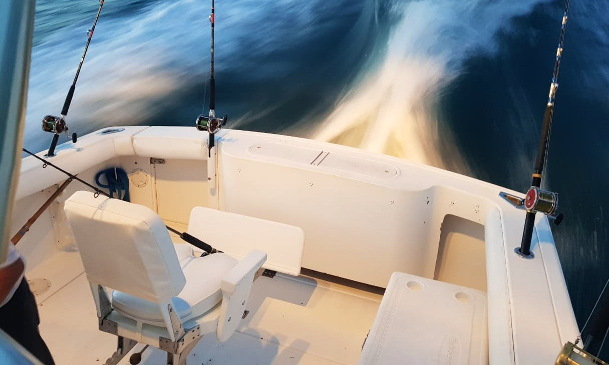 All Inclusive Deep Sea Fishing Charter in La Paz - 30´ Lucky One