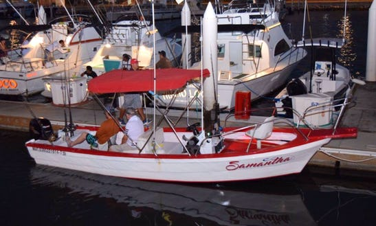 23 Ft Samantha Center Console Rental For 3 People In Cabo San Lucas, Mexico