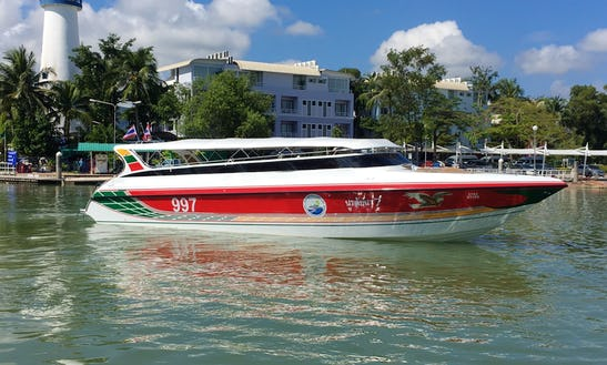 One Day Phi Phi Island Tour By Speed Boat From Krabi, Thailand