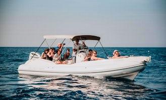 Scanner 710 Envy Tender Inflatable Boat for Rent in Trogir, Croatia