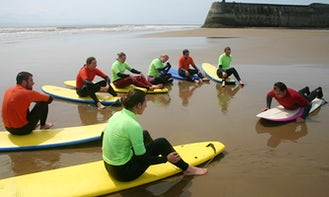 Surf Lessons Beginners, Intermediate and Advanced Surfers In Wales, UK