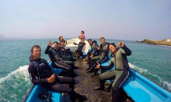 Underwater Baptism And Advanced Diver Course In La Ligua, Chile