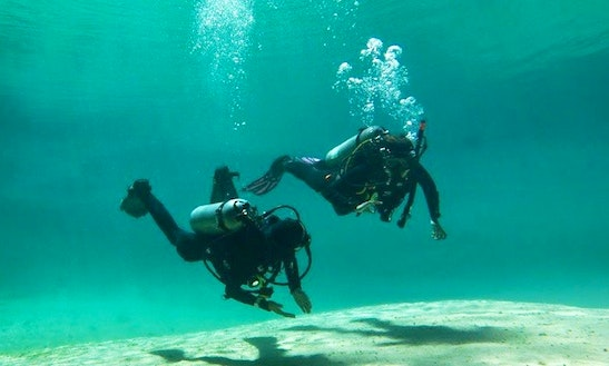Scuba Diving Lesson And Cenote Diving In Tulum, Mexico With Dominic