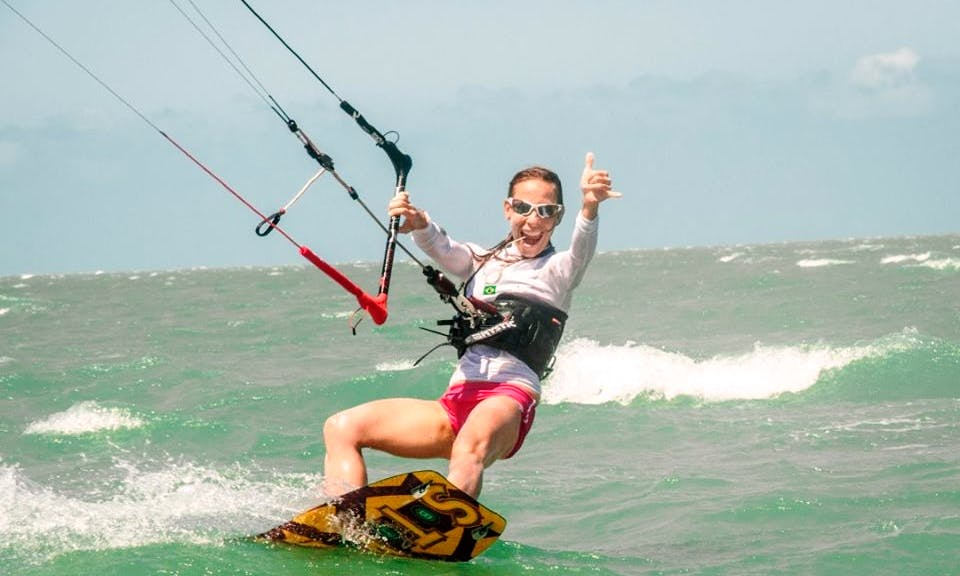 Learn Kitesurfing with a Private Instructor in Jericoacoara, Brazil