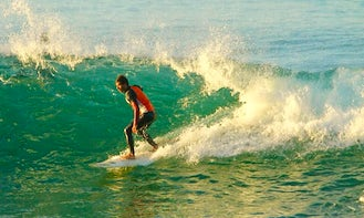 Amazing Surf Lessons in Agadir, Morocco with a Private Instructor