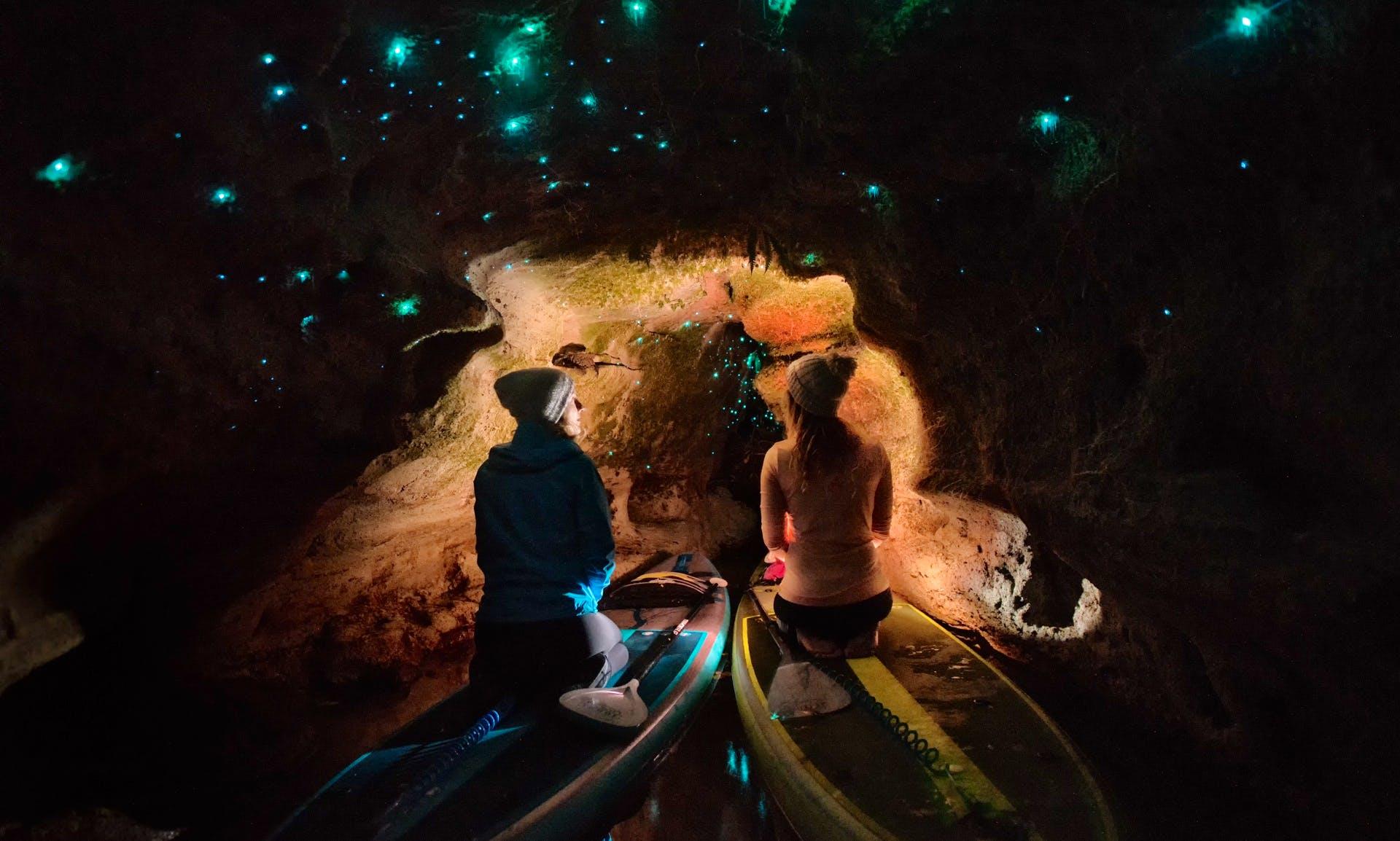 Paddle Board Glow Worm Tour