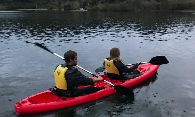 Guided Kayak Geothermal Tour in Rotorua, New Zealand