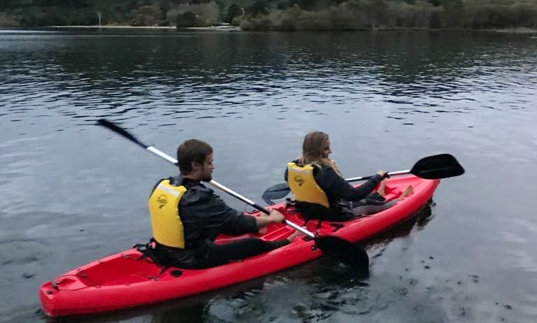 Guided Kayak Geothermal Tour in Rotorua, New Zealand