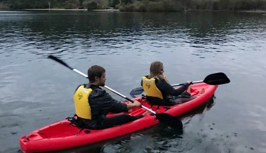 Kayak In Rotorua