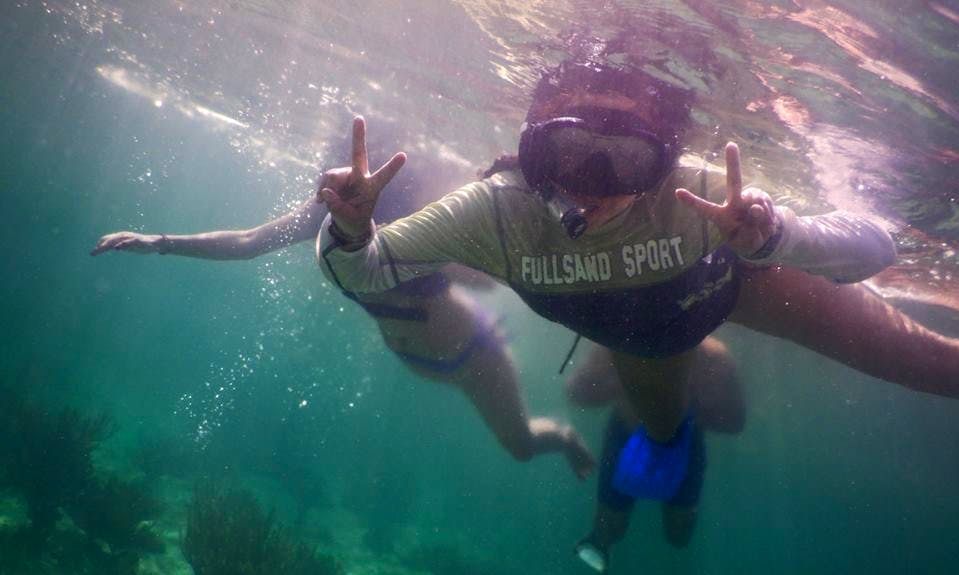 Guided Reef Snorkeling Trips In Tankah Bay, Mexico!