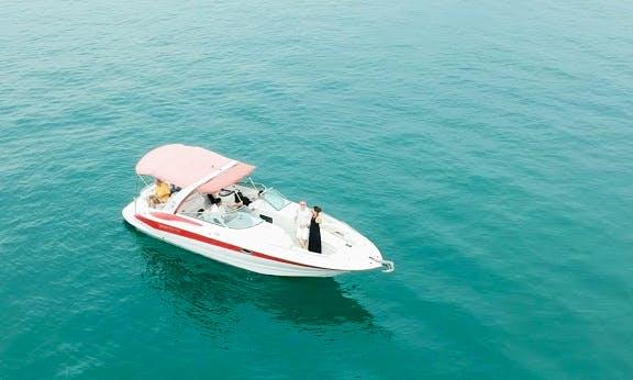 Luxury Speedboat Crownline 320s