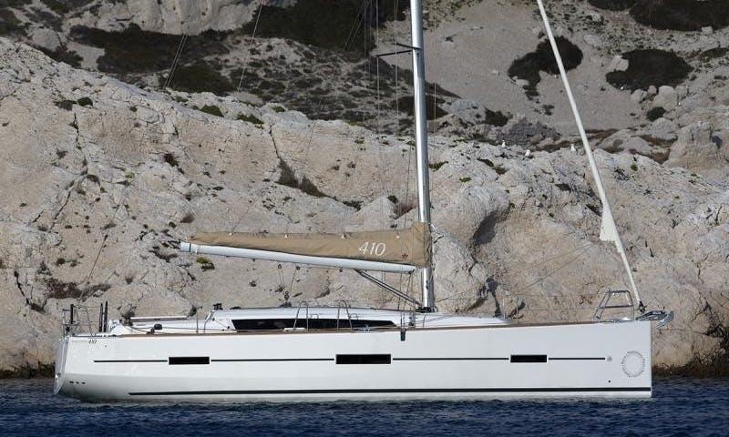Book a Dufour 410 GL Cruising Monohull in Capo d'Orlando, Sicily - Italy