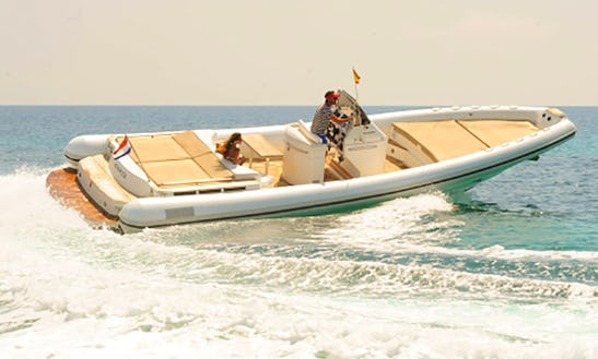 38ft Open Rib Boat, Enjoy A Fast And Exciting Adventure In Ibiza And Formentera, Spain. Best Price In The Market.