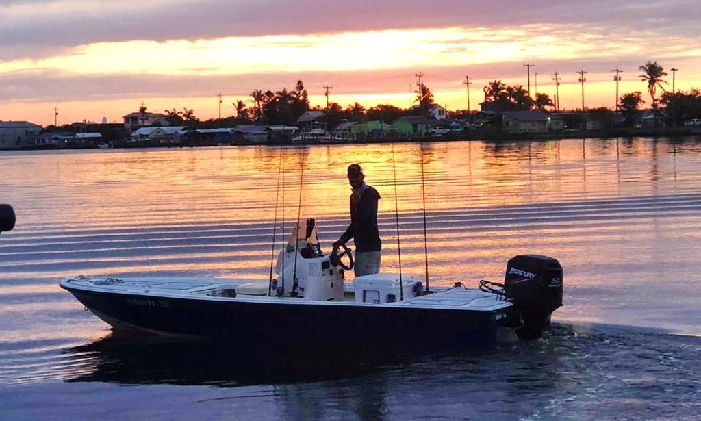 Cape Coral Sunset Boating