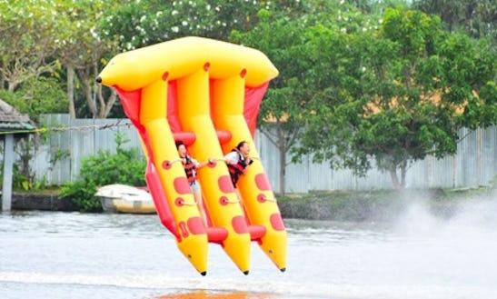 Fly Fish Ride On Bentota River In Aluthgama, Sri Lanka